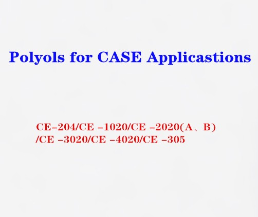 Polyols for CASE Applicastions