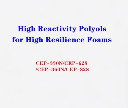 High Reactivity Polyols for High Resilience Foams